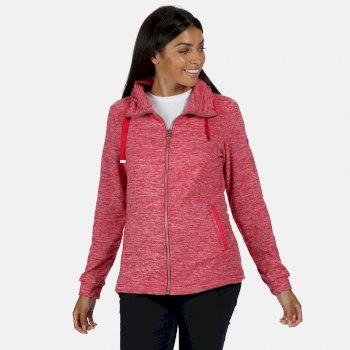 Women's Evanna Full Zip Lightweight Fleece Virtual Pink