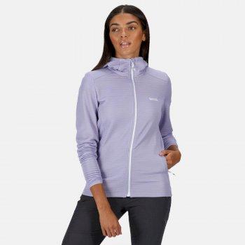 Women's Terota Lightweight Full Zip Hooded Fleece Lilac Bloom