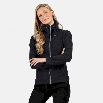 Women's Zaylee Full Zip Mid Weight Fleece Navy