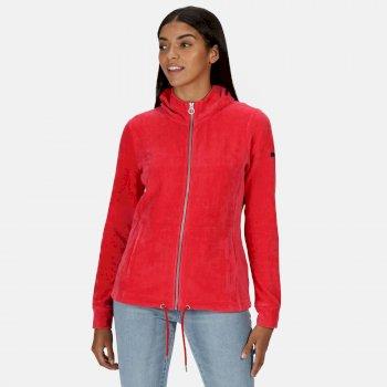 Women's Ranielle Full Zip Hooded Fleece True Red
