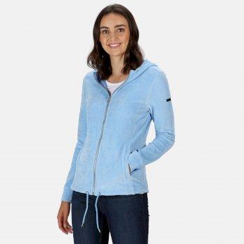 Women's Ranielle Full Zip Hooded Fleece Blueskies