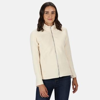 Women's Sadiya Full Zip Quilted Fleece Light Vanilla