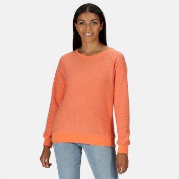 Women's Chlarise Crew Neck Sweatshirt Fusion Coral