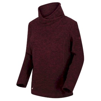 Women's Radmilla Mid Weight Overhead Fleece Dark Burgundy