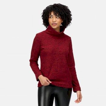 Women's Radmilla Overhead Fleece Claret Marl