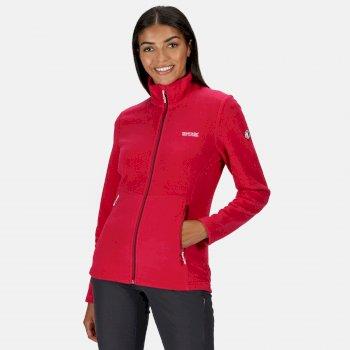Women's Floreo III Full Zip Fleece Dark Cerise