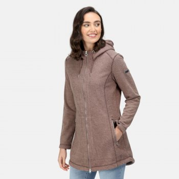 Women's Radhiyah Full Zip Heavyweight Fleece Coconut Wool Effect