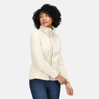 Women's Zabelle Full Zip Fleece Light Vanila Fluffy