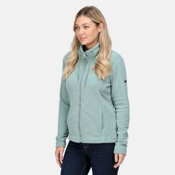 Women's Zabelle Full Zip Fleece Ivy Moss Marl