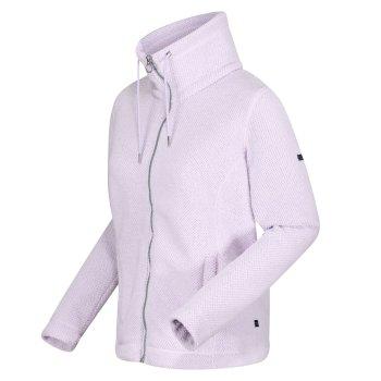 Women's Zabelle Full Zip Fleece Lilac Frost Fluffy