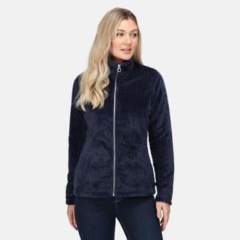 Women's Heloise Full Zip Fleece Navy Fluffy