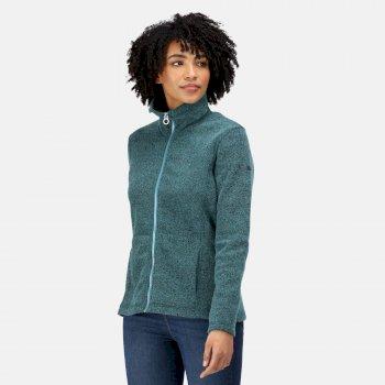 Women's Heloise Full Zip Fleece Gulfstream Marl