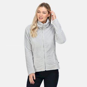 Women's Heloise Full Zip Fleece Cyberspace Plait Fluffy