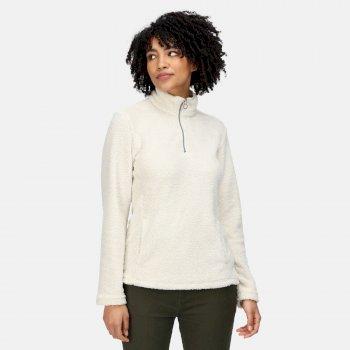 Women's Taryn Half Zip Fleece Light Vanilla