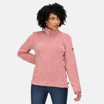 Women's Taryn Half Zip Fleece Dusty Rose