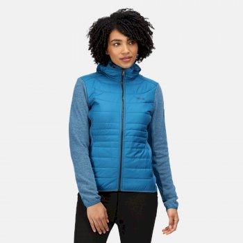 Women's Pemble III Hybrid Insulated Full Zip Fleece Blue Sapphire