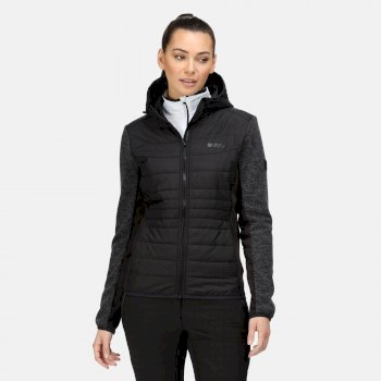Women's Pemble III Hybrid Insulated Full Zip Fleece Black