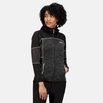 Women's Walbury II Full Zip Fleece Black Ash