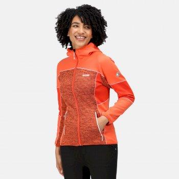 Women's Walbury II Full Zip Fleece Tigerlilly Orange Cajun Orange
