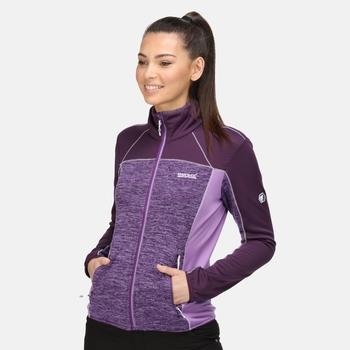 Women's Lindalla II Full Zip Fleece Purple Sapphire Dark Aubergine Hyacinth