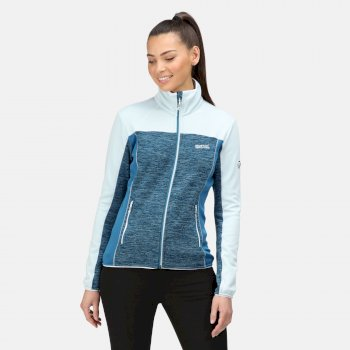 Women's Lindalla II Full Zip Fleece Blue Sapphire Ice Blue