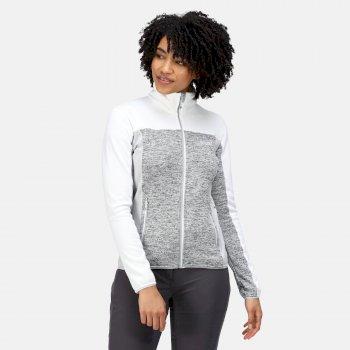 Women's Lindalla II Full Zip Fleece Cyberspace White