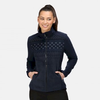 Women's Ashlett Full Zip Fleece Navy Navy Marl
