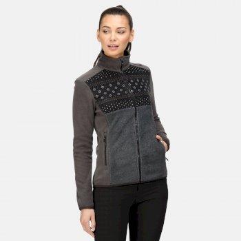 Women's Ashlett Full Zip Fleece Ash Black Marl