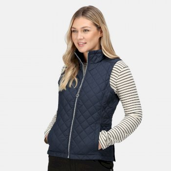 Women's Charleigh Quilted Insulated Bodywarmer Navy