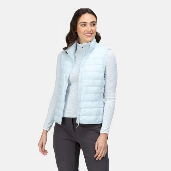 Women's Hillpack Insulated Quilted Bodywarmer Ice Blue
