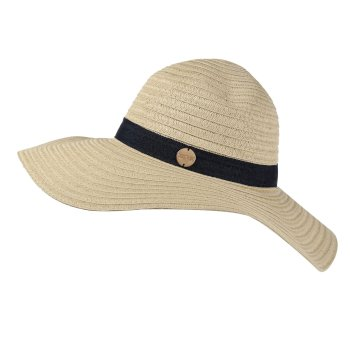 Taura Sun Hat Calico Navy