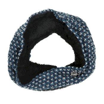 Harleth Textured Knit Snood Majolica Blue