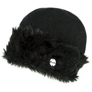 Women's Luz Jersey Knit Hat Black