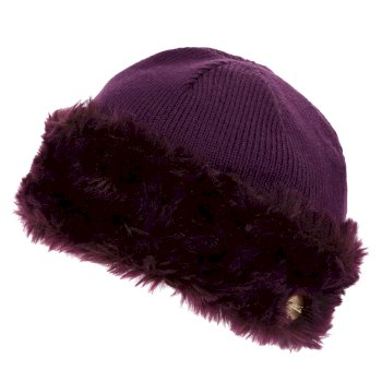 Women's Luz Jersey Knit Hat Prune