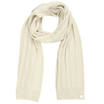 Multimix II Cable Knit Scarf Light Vanilla