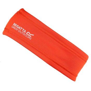 Women's Active Headband Cajun Orange