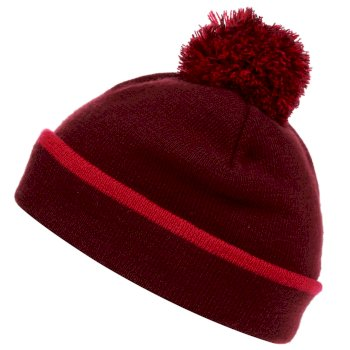 Women's Rushley Bobble Hat Beetroot