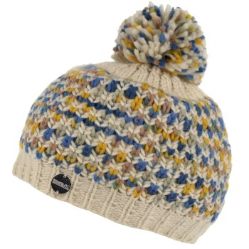 Women's Frosty III Bobble Hat Light Vanilla