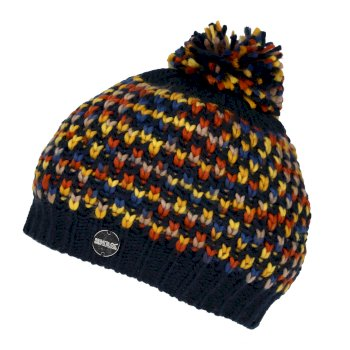 Women's Frosty III Bobble Hat Navy