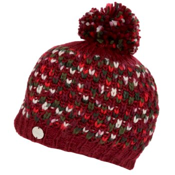 Women's Frosty III Bobble Hat Delhi Red