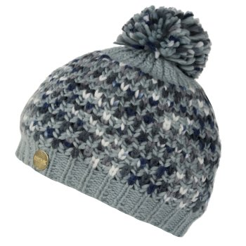 Women's Frosty III Bobble Hat Light Steel