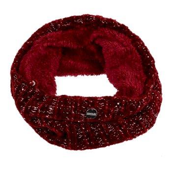 Women's Harleth II Fleece Lined Snood Delhi Red