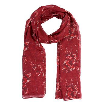 Women's Peggie III Printed Scarf Delhi Red Floral
