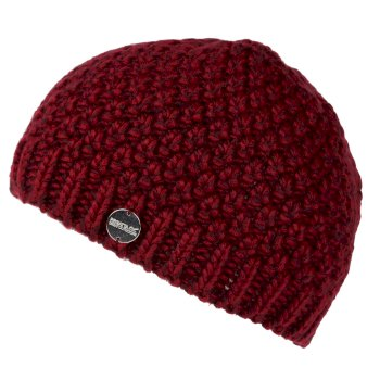 Women's Kaena Knitted Beanie Delhi Red