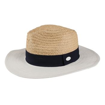 Women's Marsa Paper Straw Hat Calico Cream Navy White