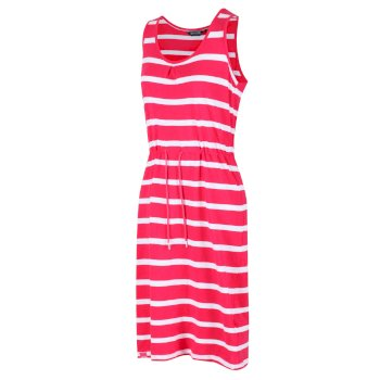 Women's Felixia Striped Sleeveless Dress Virtual Pink