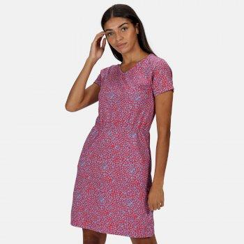 Women's Havilah Dress Dusty Floral Pink