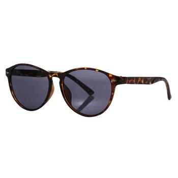 Women's Salvadora Preppy Round Sunglasses Tortoise Shel