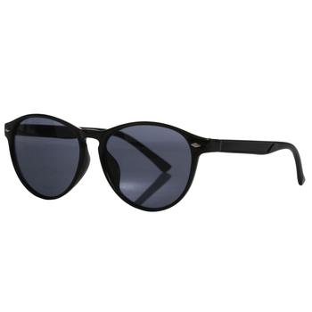 Women's Salvadora Preppy Round Sunglasses Black