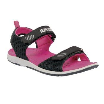 Women's Terrarock Sandals Black Active Pink